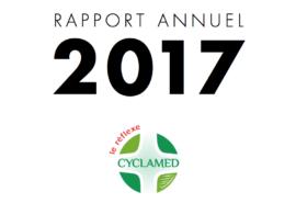 rapport d'activité, Cyclamed